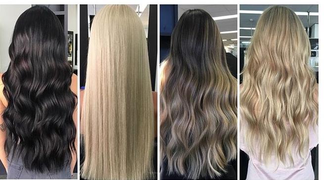 HAIR EXTENSIONS - SEWING BRAID METHOD 18 inchs $550Sewing Braid Method FROM $650Flat track from $500Tape Hair extensions