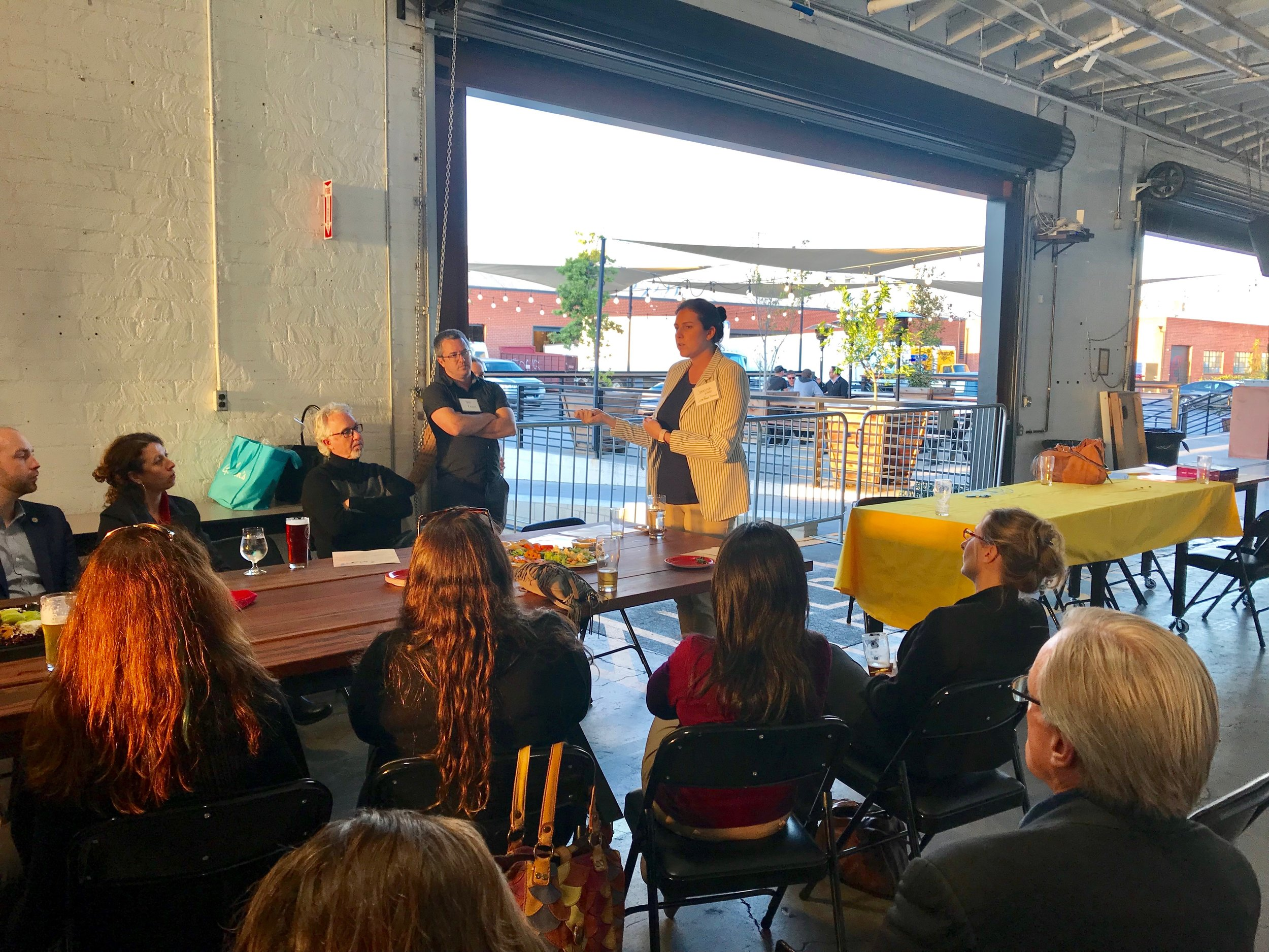Above: at our most recent SBBEC mixer on March 20, 2019, attendees enjoyed appetizers and beers at Common Space Brewery while learning about the new Clean Power Alliance energy options available in the South Bay. The next mixer will take place in early July 2019 and will be announced in the coming months!