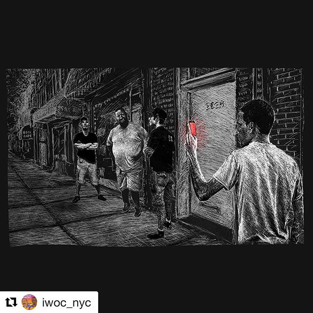 "#Repost @iwoc_nyc with @get_repost ・・・ The last day of killer cop Daniel Pantaleo's disciplinary trial for the murder of Eric Garner is TOMORROW…. nearly 5 YEARS AFTER he strangled Garner to death over selling loosies. In those 5 years, Panteleo has been working a desk job with the NYPD, making over 6 figures and building pension. The only consequence that could come from this trial is the judge recommends that Pantaleo is fired.  Meanwhile Ramsey Orta–who filmed his friend Eric's death and is a vocal revolutionary–was targeted and has been held captive behind bars since 2014. The state views Ramsey as a threat & continues to punish him for speaking truth. Ramsey testified against Pantaleo via video conference from prison early on in the trial, and shortly after was transferred to a different facility and slapped with a 90-day solitary confinement sentence. His barbaric treatment vs. Pantaleo's cushy setup lays plain the lengths taken to preserve white supremacist, capitalist, police-protected power structures. Write Ramsey a letter or donate to his fund if u are able, outside support goes a long way.  Folks are gathering tomorrow at 8:00AM (or as early as you can get there) outside One Police Plaza to pack the court, strong abolitionist presence is needed. Shouts to everyone who has been taking direct action in the lead up.  #justiceforericgarner #supportramseyorta #blacklivesmatter #fuckdanielpantaleo #ftp #blm #fuck12 #firepantaleo (sick!) illustration by Jonathan Burkhardt (""Ramsey: A Graphic Novel"" is currently in the works) @nyc_shutitdown  @decolonizethisplace  @peoplespowerassemblynyc"