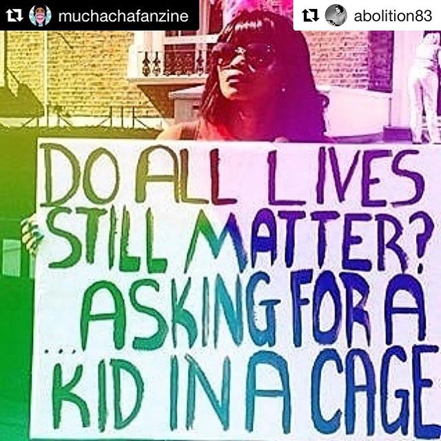 "#Repost @abolition83 with @get_repost ・・・ #Repost @muchachafanzine with @get_repost ・・・ (Trigger warning: family separation, border violence, sexual abuse) The trauma of family separation is nothing new. Indigenous children were stolen from their families and forced into schools to be assimilated. Slave owners separated slave children from their slave parents to sell. In 2018, The Trump administration's zero-tolerance policy went into effect, separating migrant children from their families and caging/abusing/trafficking/murdering them in the process. There have been been thousands of children separated without family reunification, thousands of allegations of sexual abuse, and six children have died from inhumane conditions since September 2018 while in US custody. This is genocide. This is fascism.  The only way to keep these things from happening is if we learn about them. We need to study these fascist regimes and organize harder than ever. And we need to support on the ground activist groups like @suenossinfronterastx who mobilize to support families at the border.  To uplift the voices of migrant youth and other youth of color, Muchacha Fanzine's upcoming youth-based issue ""Liberation Youth"" is accepting submissions. Check out more on the link in bio! ✊🏾✨"