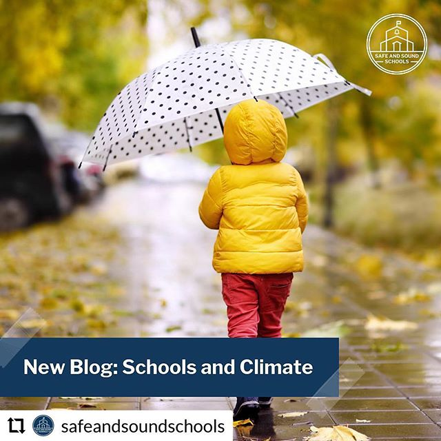 """What could school safety and climate change possibly have in common? Plenty, it turns out."" NEW post on @safeandsoundschools the leading  #schoolsafety NGO, founded by Sandy Hook parents: ""What could school safety and climate change possibly have in common? Plenty, it turns out. At the root of each of these enormous issues is human behavior: all of us, what we do — and what we don't.... In a series of increasingly alarming reports, scientists conclude that global warming creates exacerbated conditions for extreme weather events: major precipitation, historic flooding, unmanageable wildfires, unbelievable wind-velocity accelerations, and record-breaking heat waves among them. All of which affect our school children, teachers, families, and staff, especially if they are asthmatic, or if they live near a coal plant, or a flood zone, or if the coach doesn't bring practice indoors on a sweltering day. Full post at Safe and Sound Schools [dot] org #EarthDay #parents #safeschools #teachers #kids"