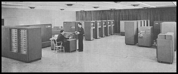 Early computers not quite up to the task or ability of today's machines