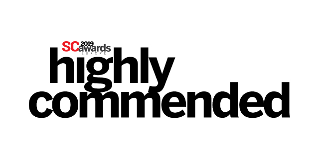 'Highly commended' for 'Best Emerging Technology'