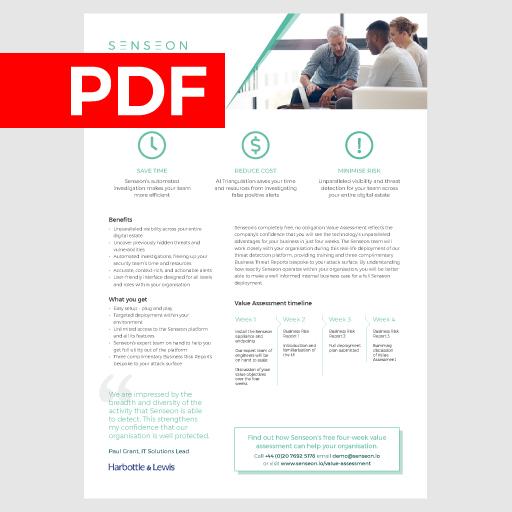 Value Assessment  August 2019