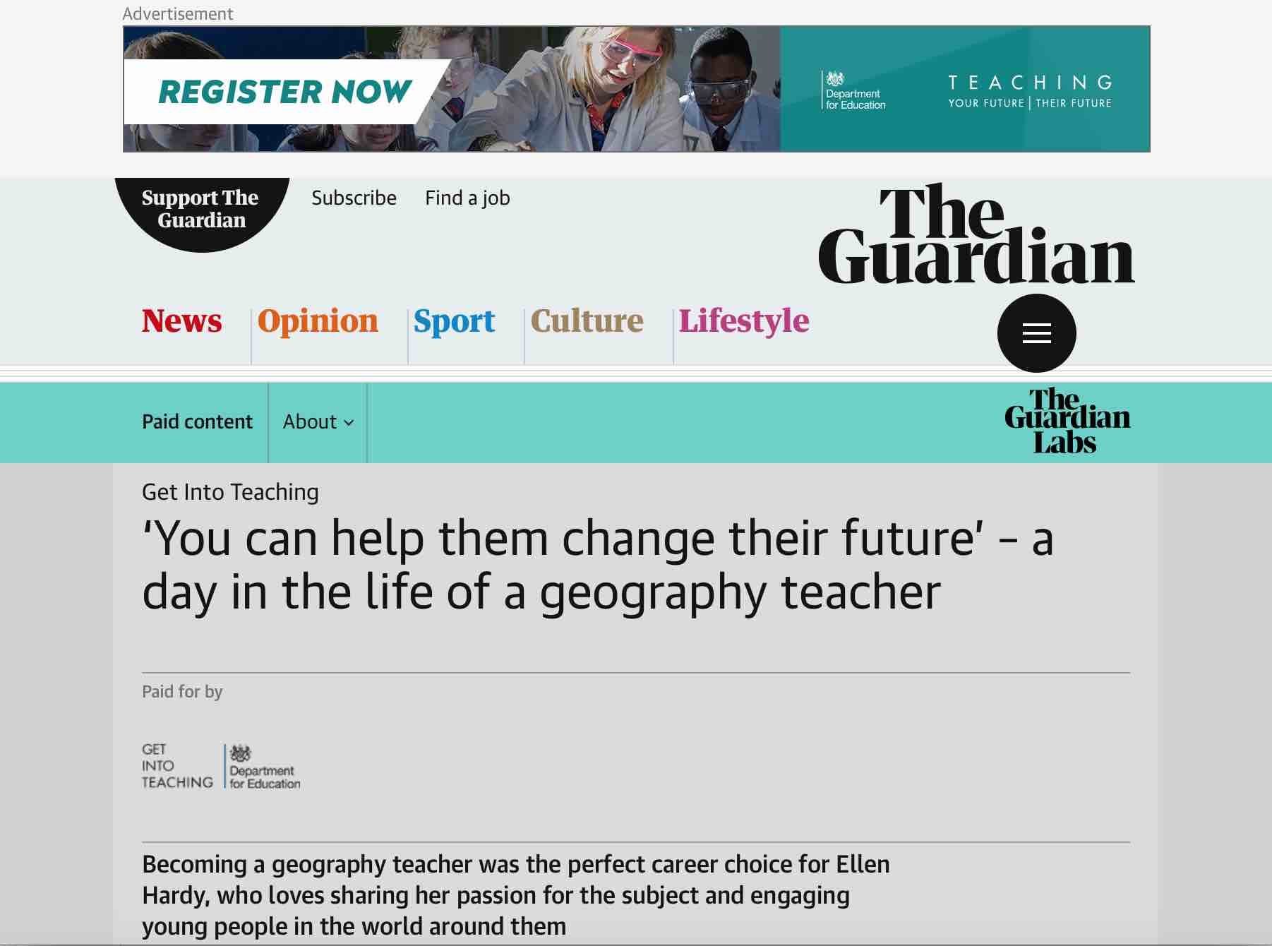 The Guardian: Avon Valley College