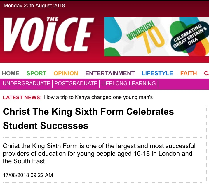 The Voice: Christ The King