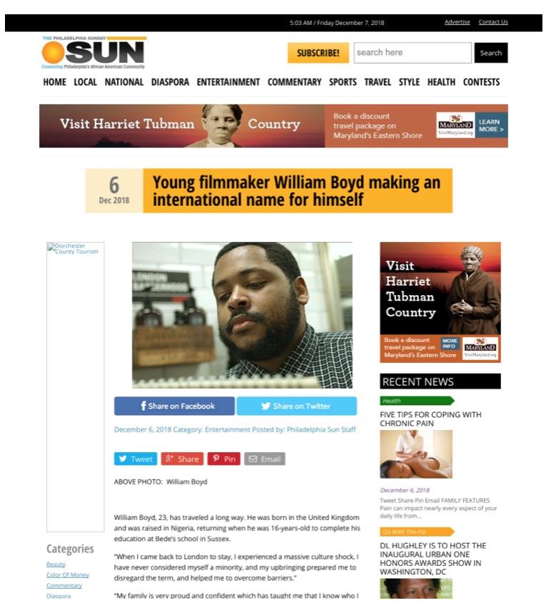 Philadelphia Sun: MetFilm