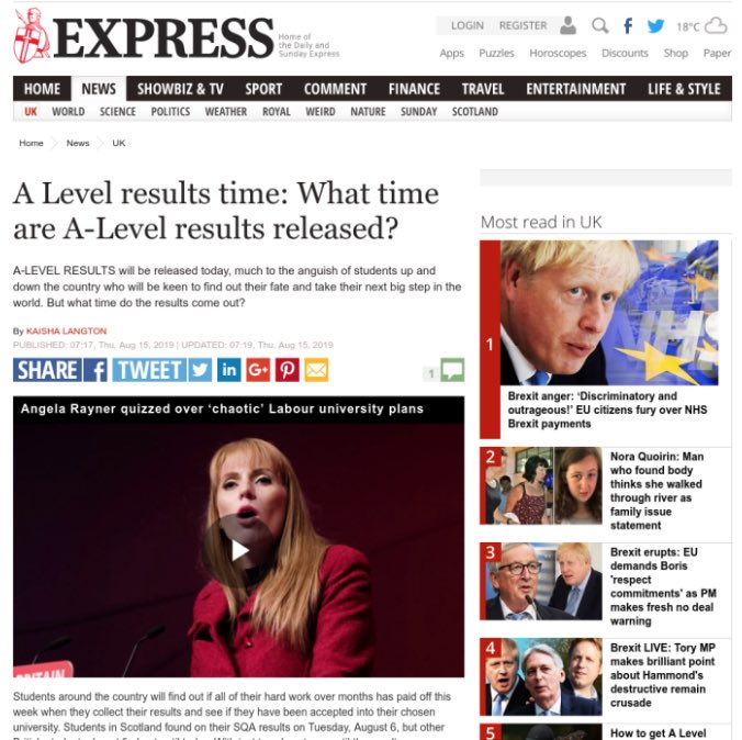 The Express: ScreenSpace