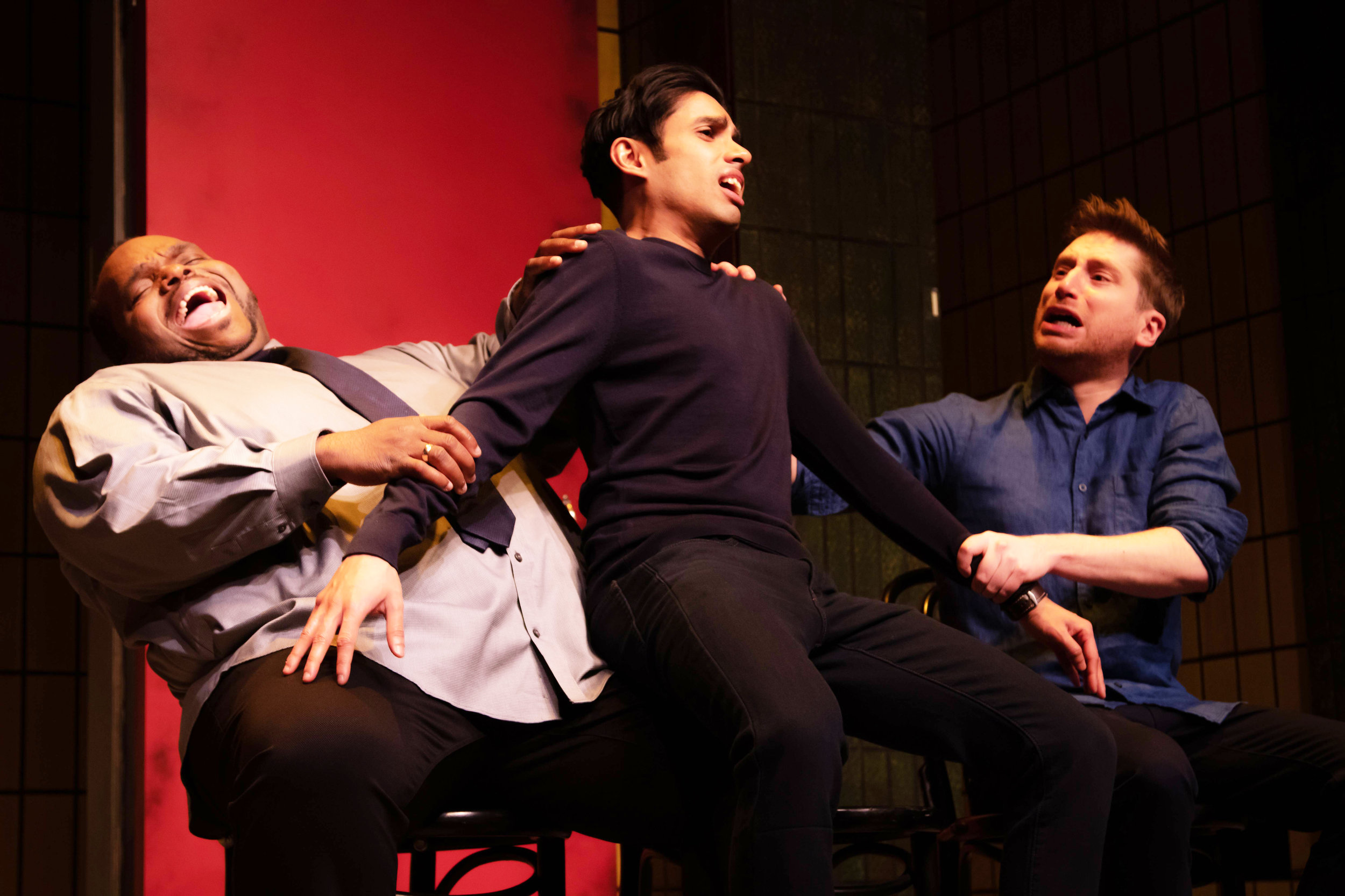 Image above: The Second City's 82nd mainstage revue,  Walking On Bombshells.  Until end-July.