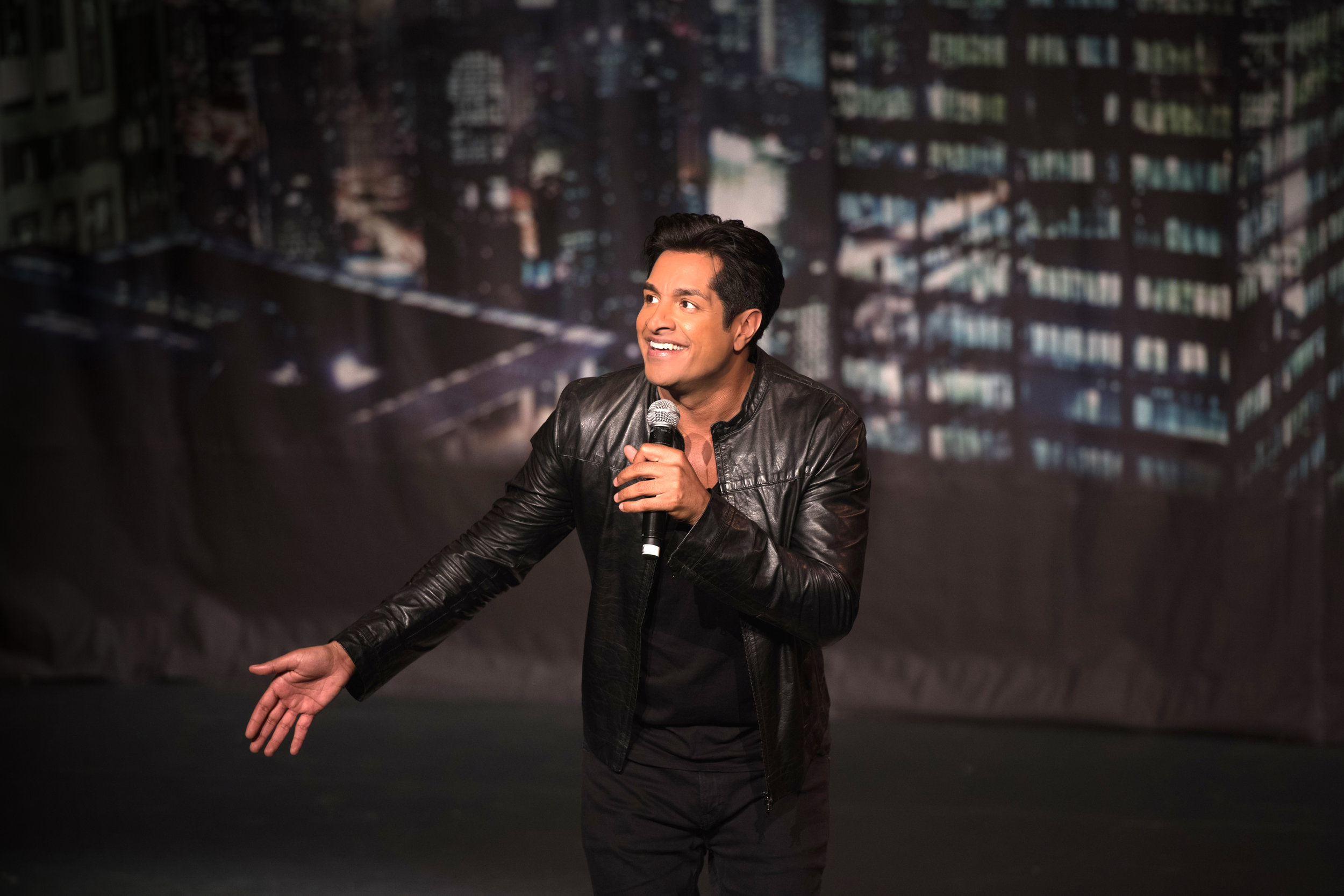 Comedy superstar Sugar Sammy returns to perform live in Ontario.