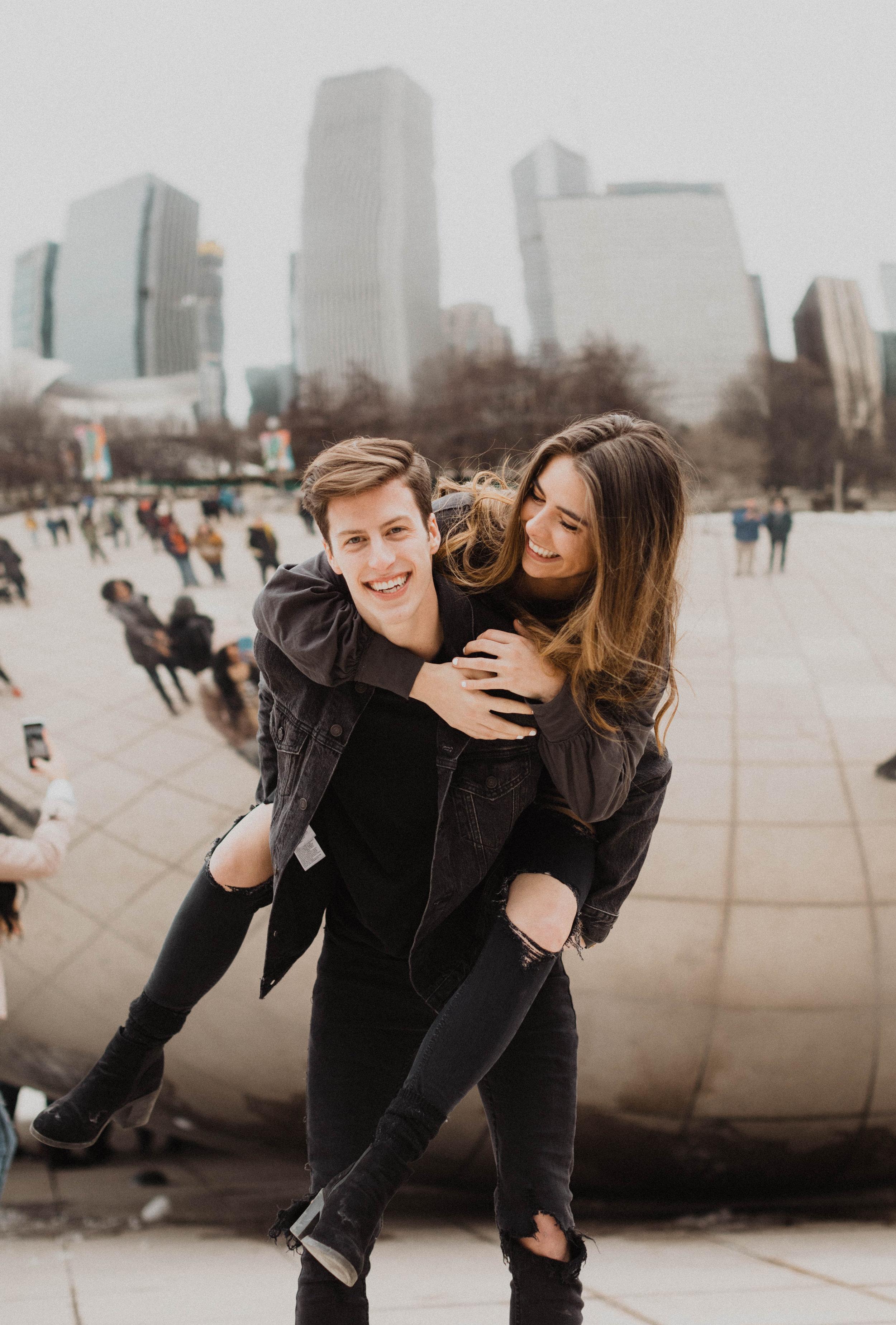 Adventurous Chicago Engagement