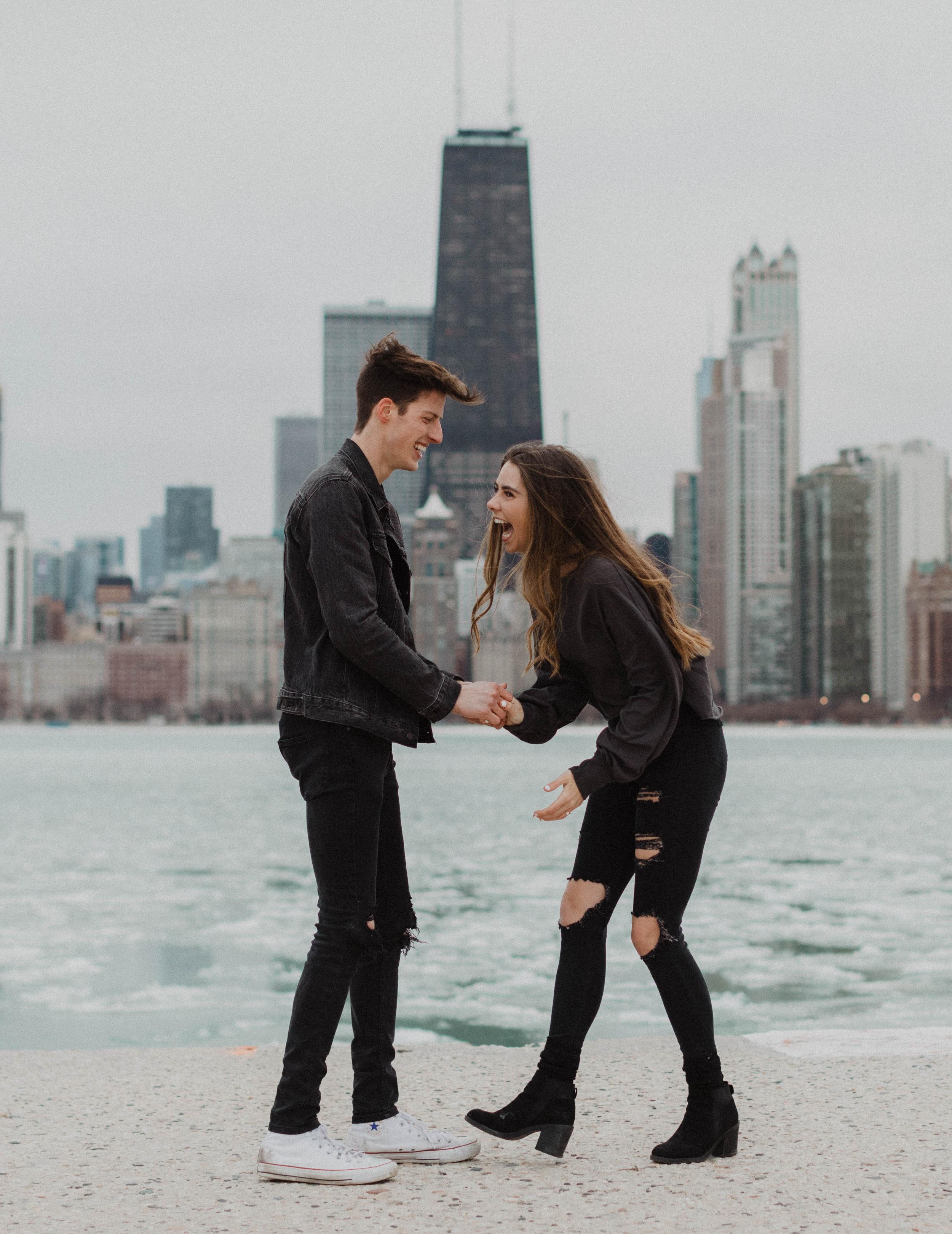 Adventurous Chicago Engagement Photographer