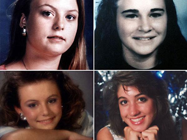 Sarah Harbison, Amy Ayers, Jennifer Harbison, and Eliza Thomas.