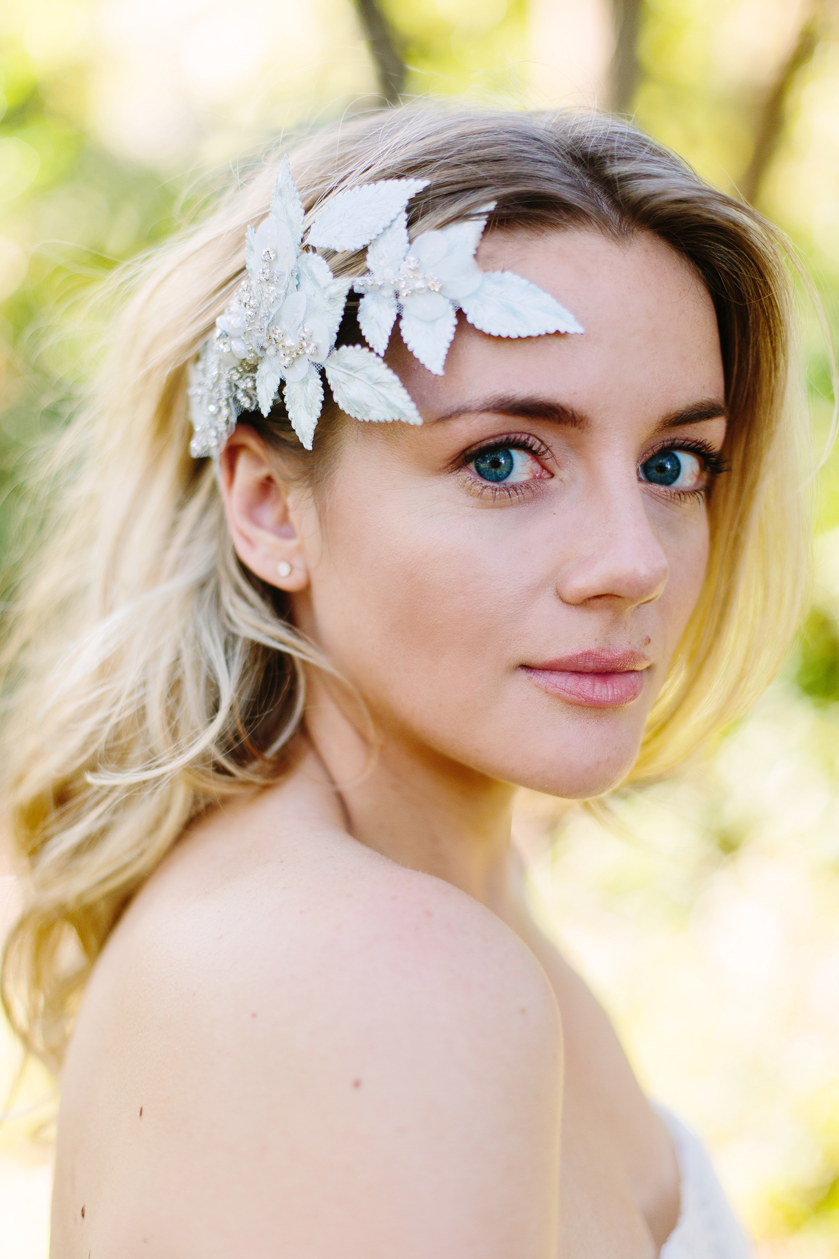 Wisteria Headpiece by Abigail Grace Bridal