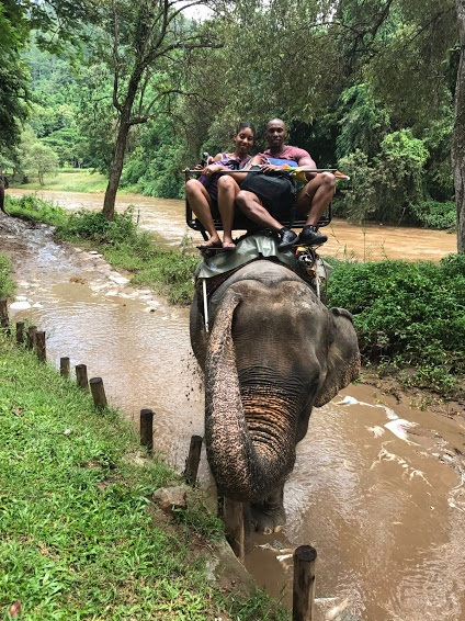 If I could give Senait of The Travel Link 6 stars I would. I came across Senait on a Facebook group and I am so glad I did because she made my, now, husband and I honeymoon dreams come true.   Stephaine & Jermaine, Tokyo & Thailand Honeymoon