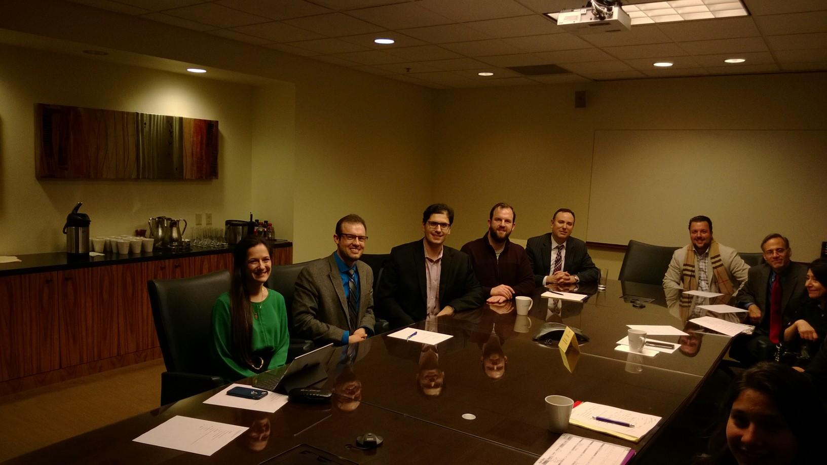 The 2018-2019 HBA Executive Board.