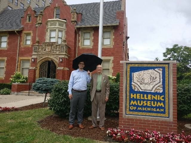 The Hellenic Museum of Michigan in Detroit offered an interesting opportunity to put our Greek-American heritage into perspective.