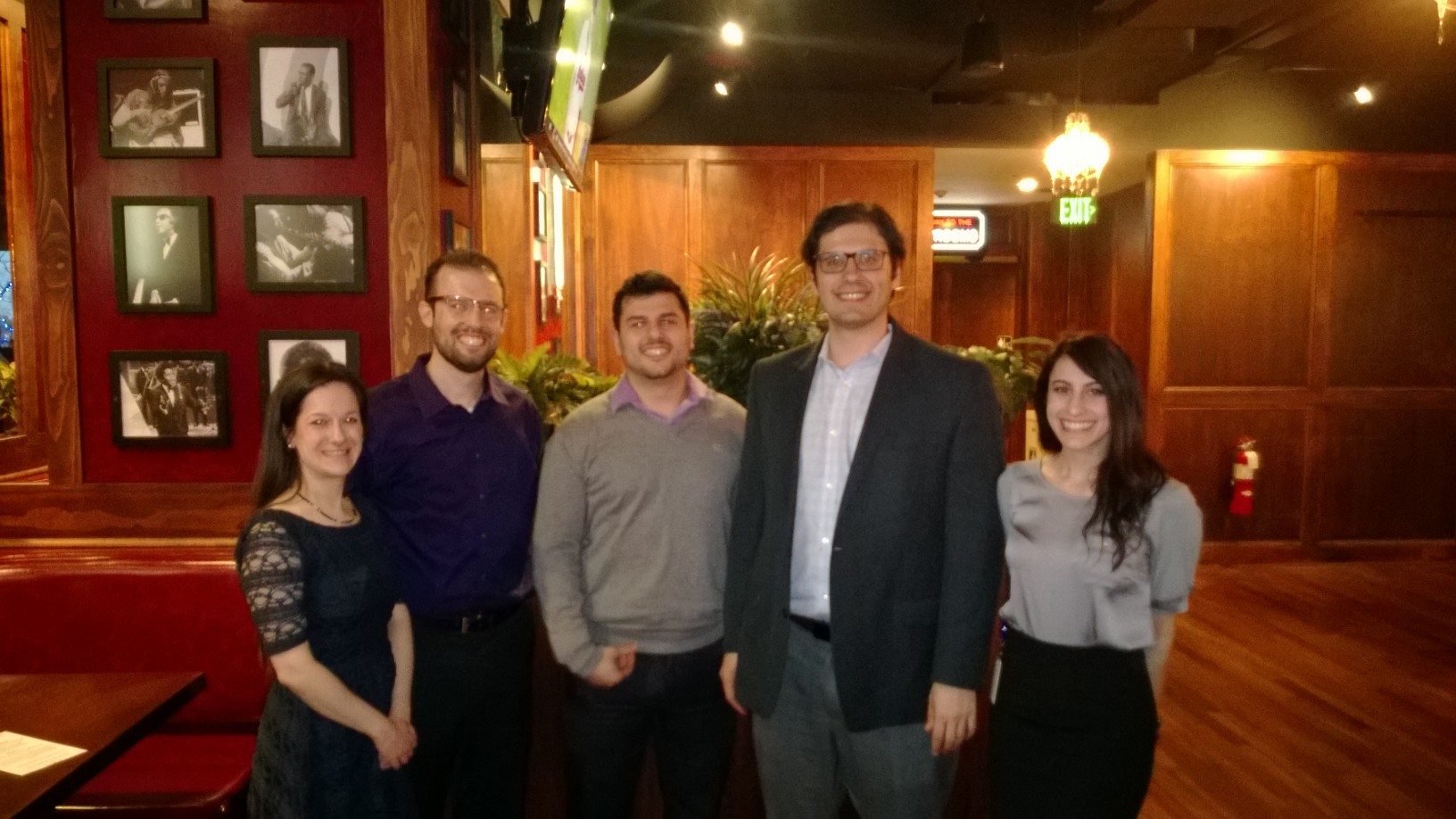 We held our own at the Women's Bar Association's annual trivia event at Hopcat in Royal Oak.