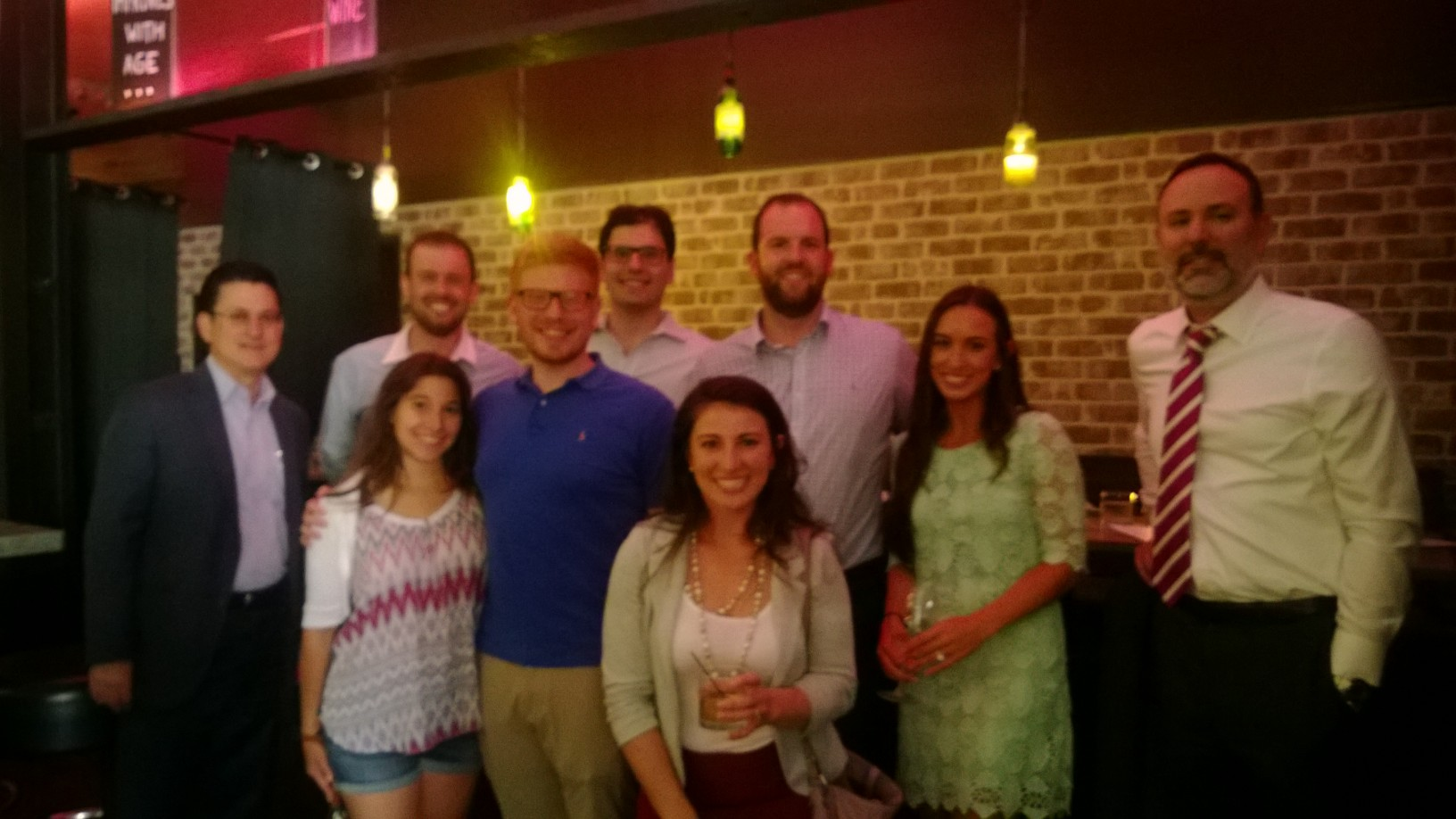 A great night of delicious wine and great conversation at our Wine Mixer at Vinotecca in Birmingham.