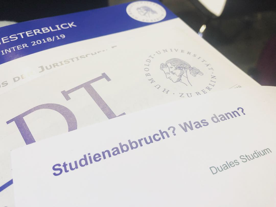 Studienabbruch? Was dann?