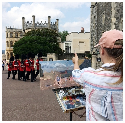 - 3rd palce at Windsor and eton En plein air 2018
