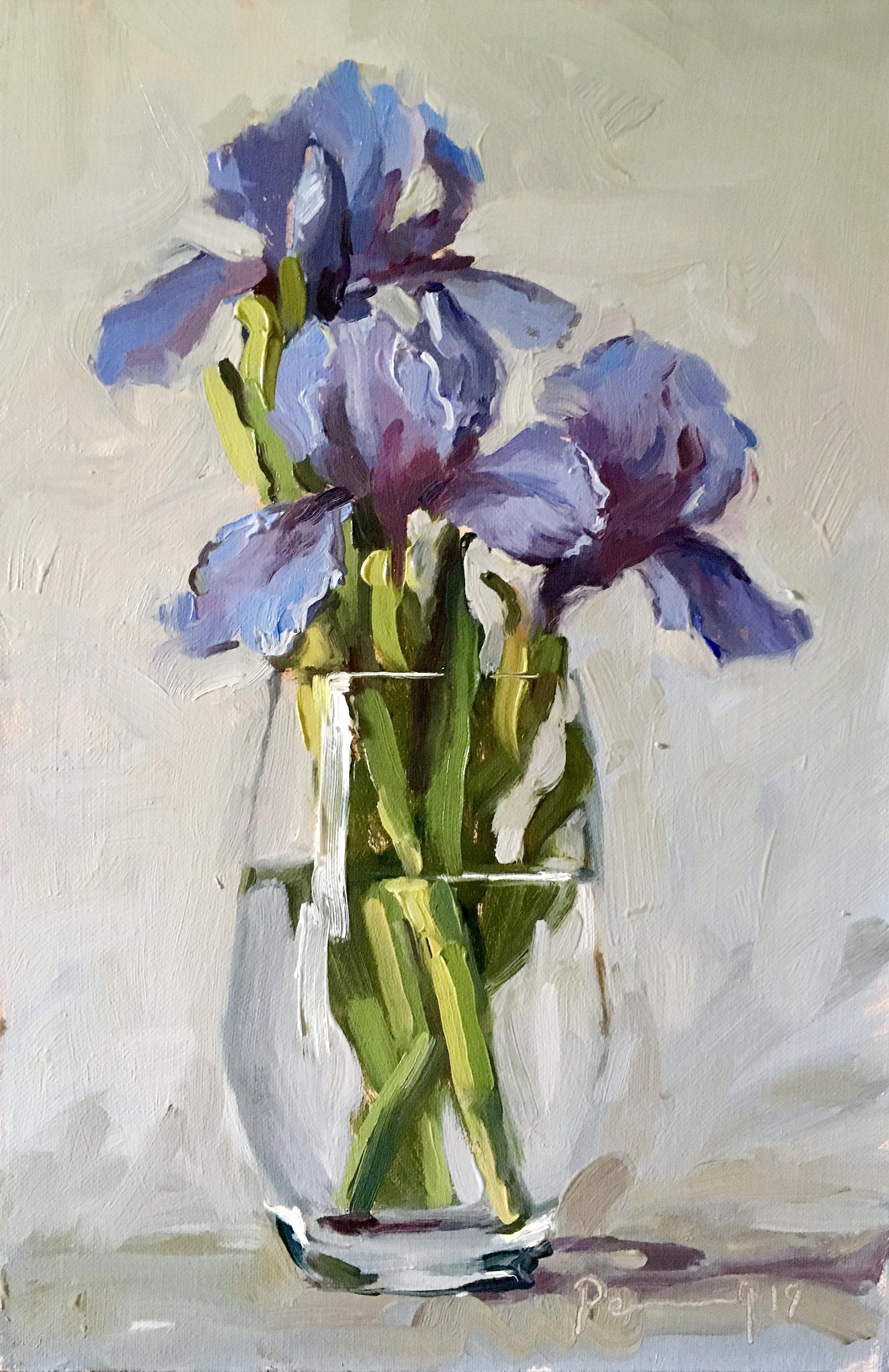Iris in a Glass
