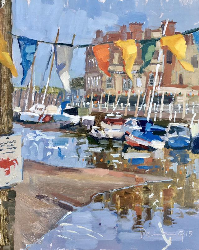 Bunting, Boats, Blakeny