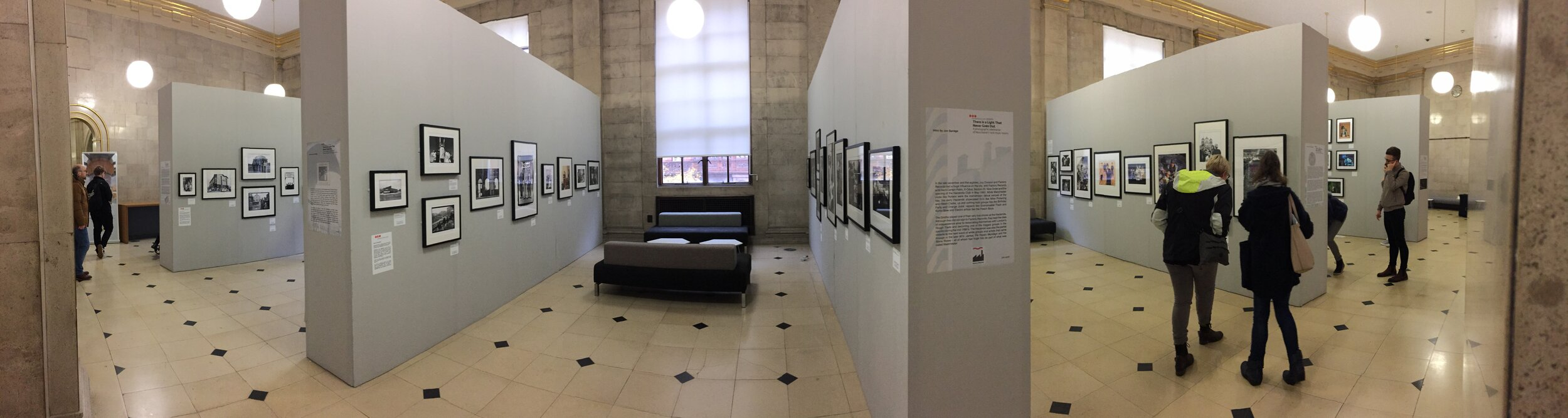 Panorama of the exhibition space at Manchester Central Library that I will be exhibiting in from September 2020 till the end of December 2020