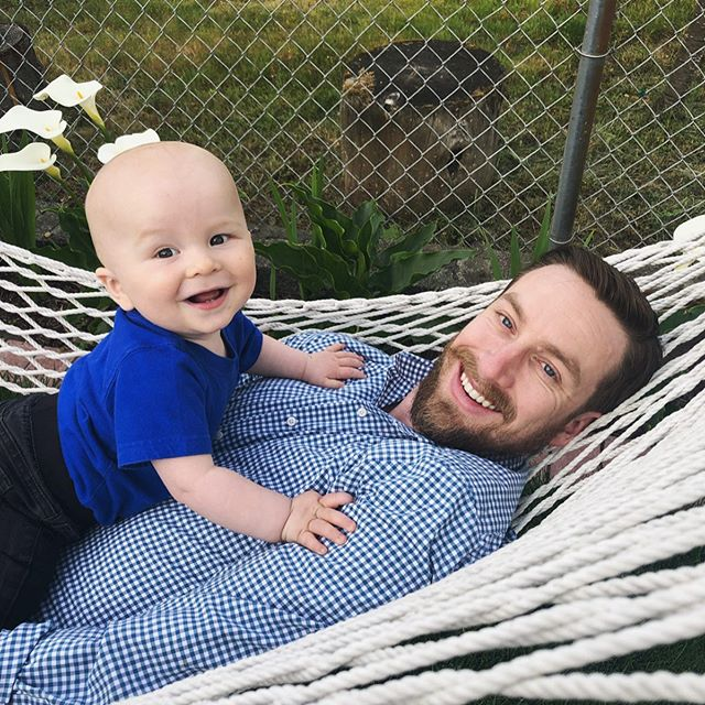 Happy Father's Day Eric! You are such a wonderful father and Logan and I are so lucky to have you in our lives. I love you!