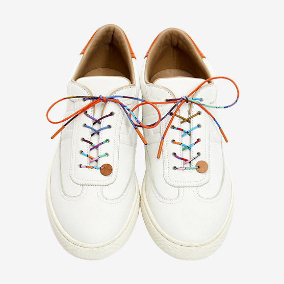 Hermes petit h shoelaces - £95  Each petit h piece is unique. The colour or the pattern of your product will be a surprise
