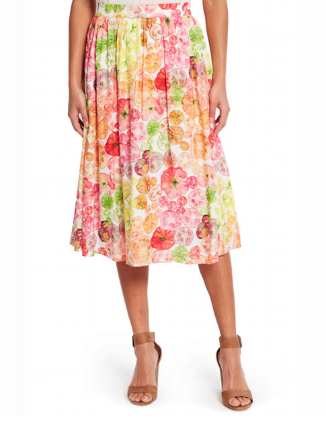 This was so cute but I wished for a shorter hem. On my 5' tall figure I can't really do below the  knee.