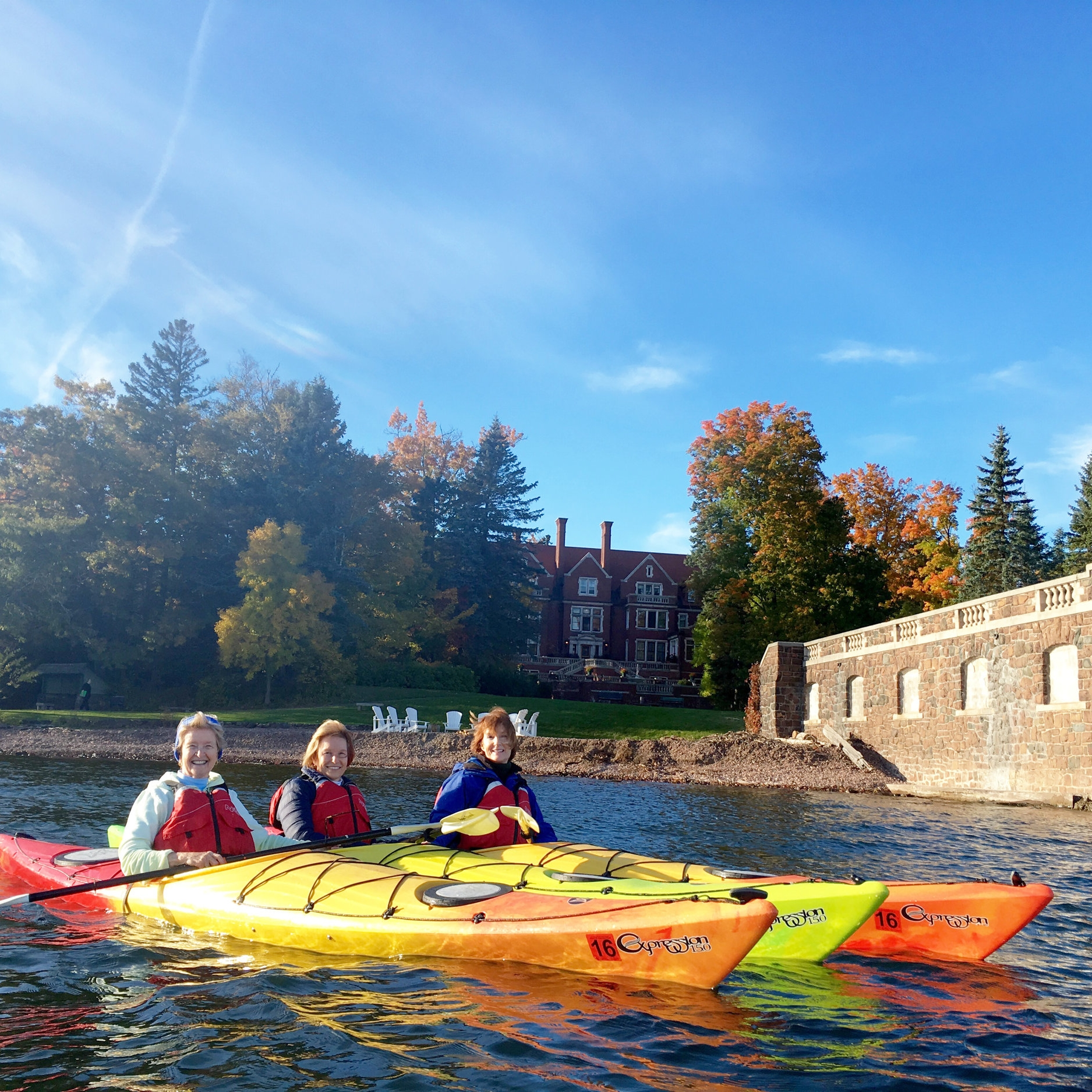 Glensheen Kayak in the Star Tribune - Read about our Glensheen kayak tour and other awesome things Duluth has to offer.