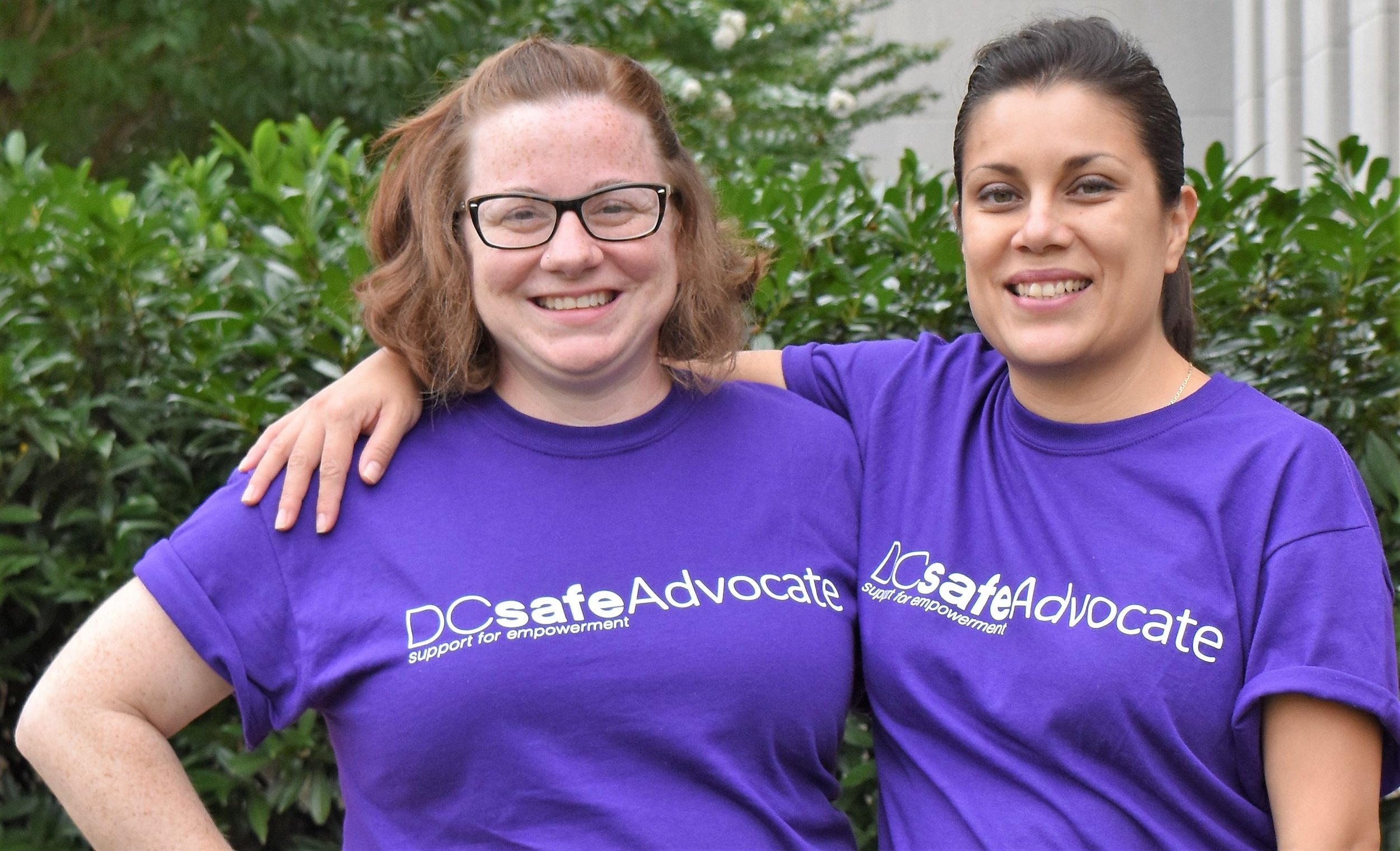 In need of our services? - If you are a survivor of domestic violence in need of our services, please click below to learn more about how to get connected to a DC SAFE Advocate.