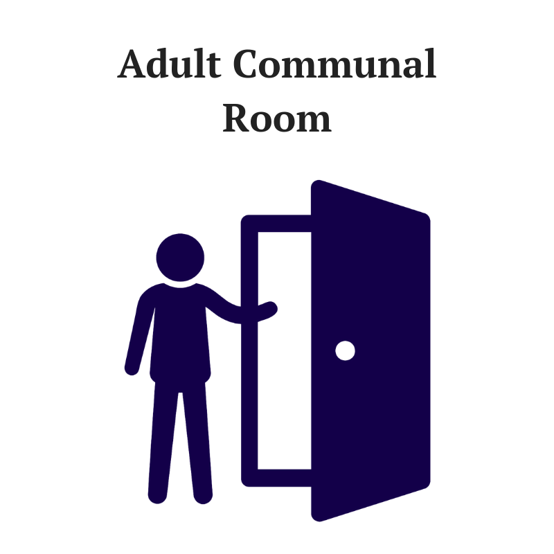 Help create a welcoming and restorative environment for adult clients by providing books, games, comfortable furniture, and other cozy materials for the Adult Communal Room.  Naming Opportunity: $5,000