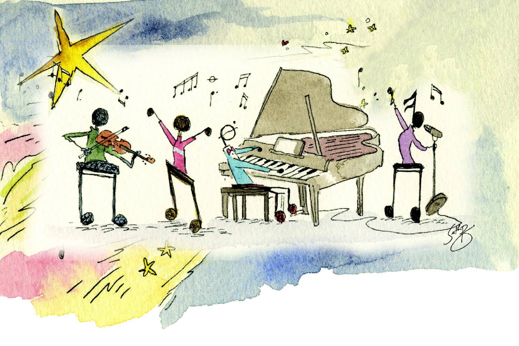 Tuition for Piano, Guitar, Violin, Viola