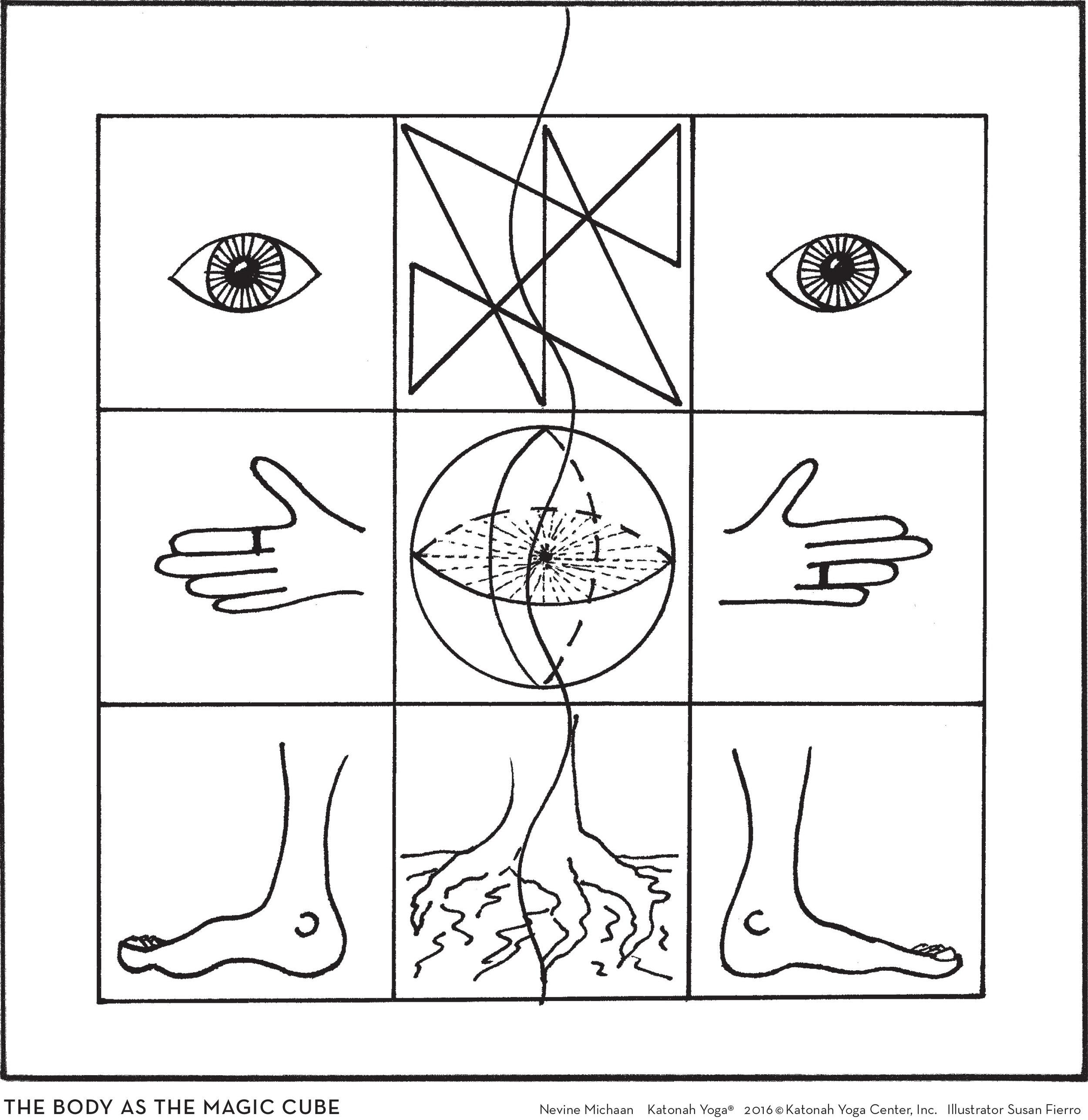 The Body as Magic Cube