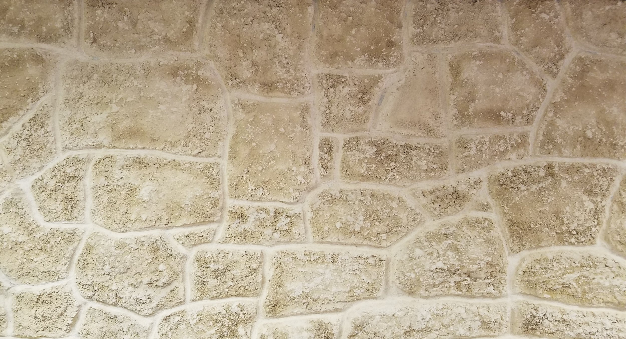 Light Tan Rubble Stone