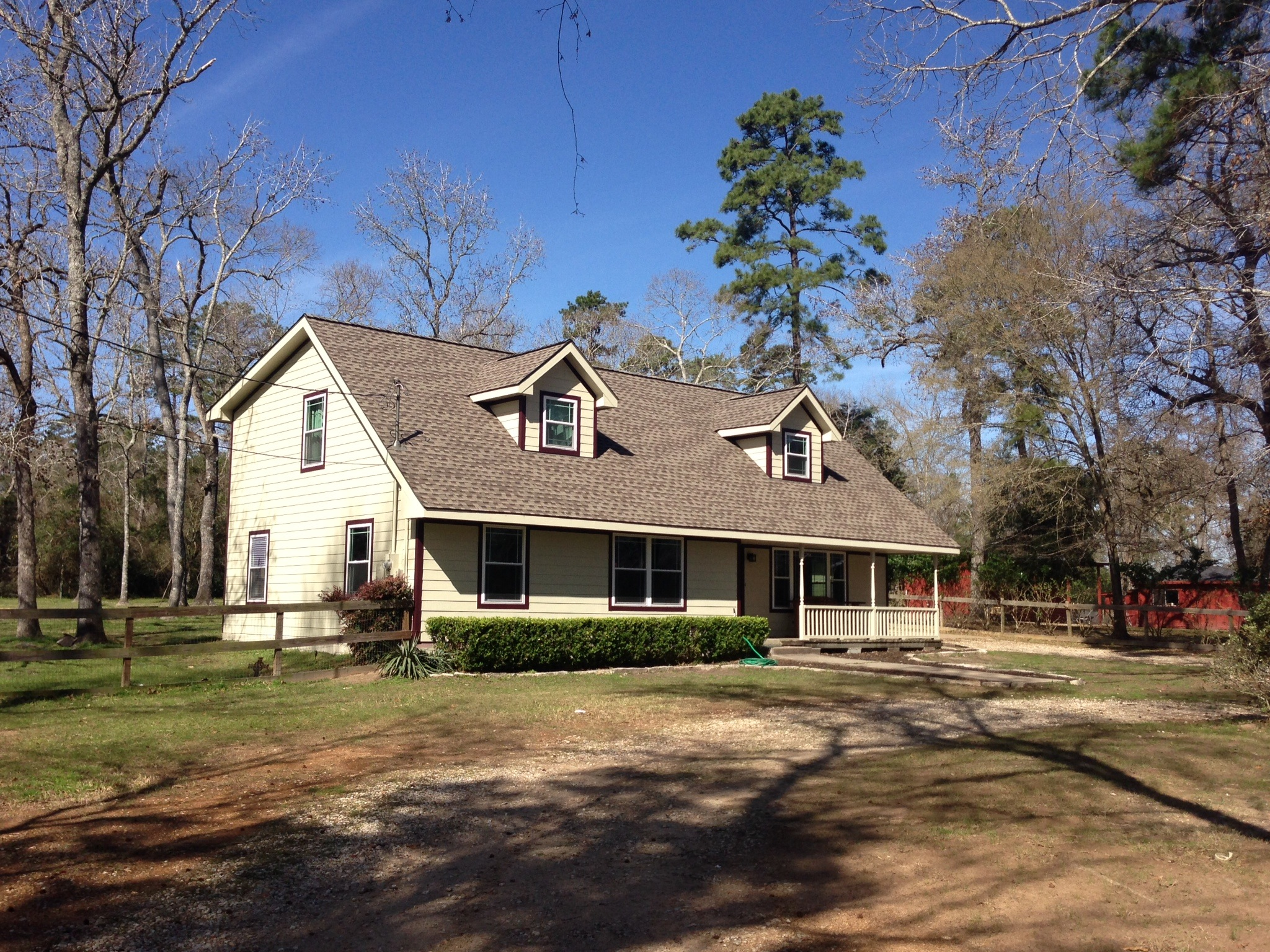 This home received a full new roof, windows, and siding from us!