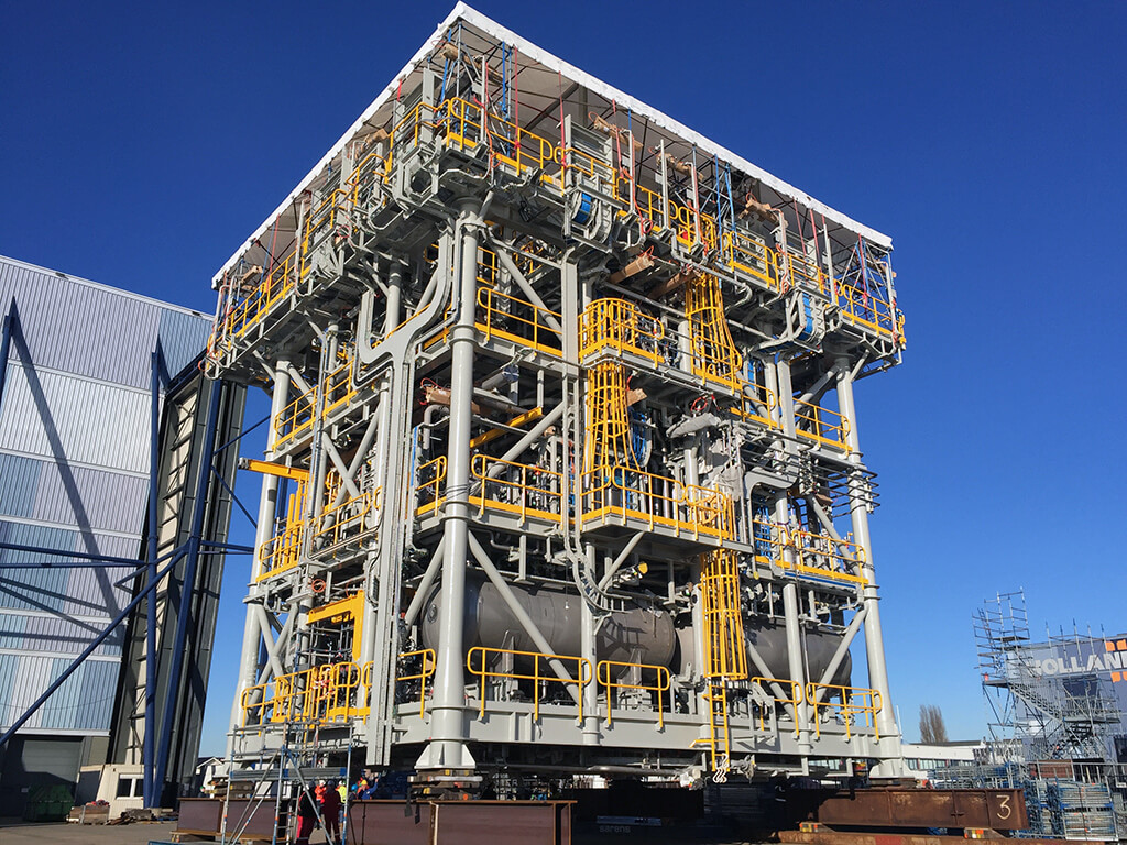 INPEX - FPSO Ichthys Venturer Project. Veolia Water Treatment Package   , The Netherlands.