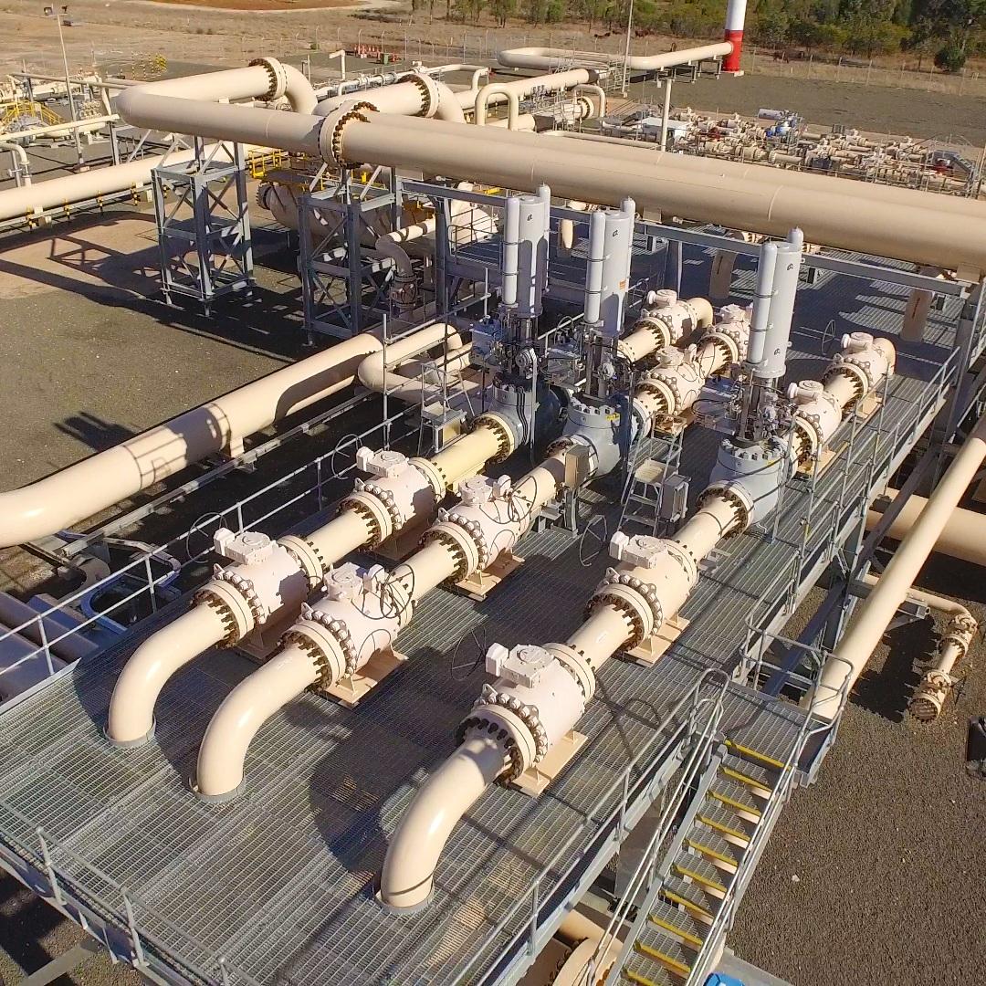 SANTOS gas plant, Queensland Australia. Electrical Equipment in Hazardous Area installation audit.