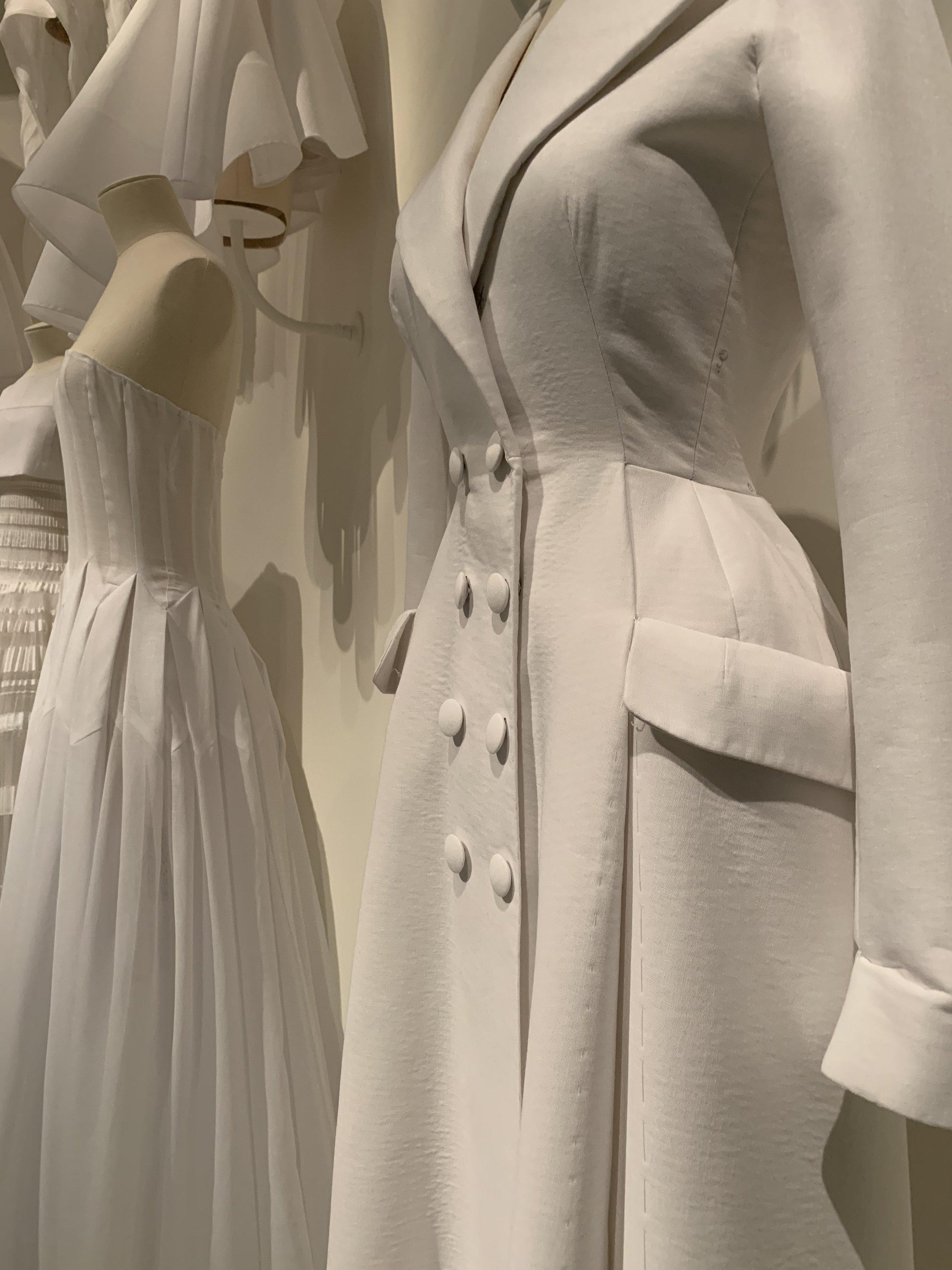 the Dior exhibit at the Denver Art Museum, 2019