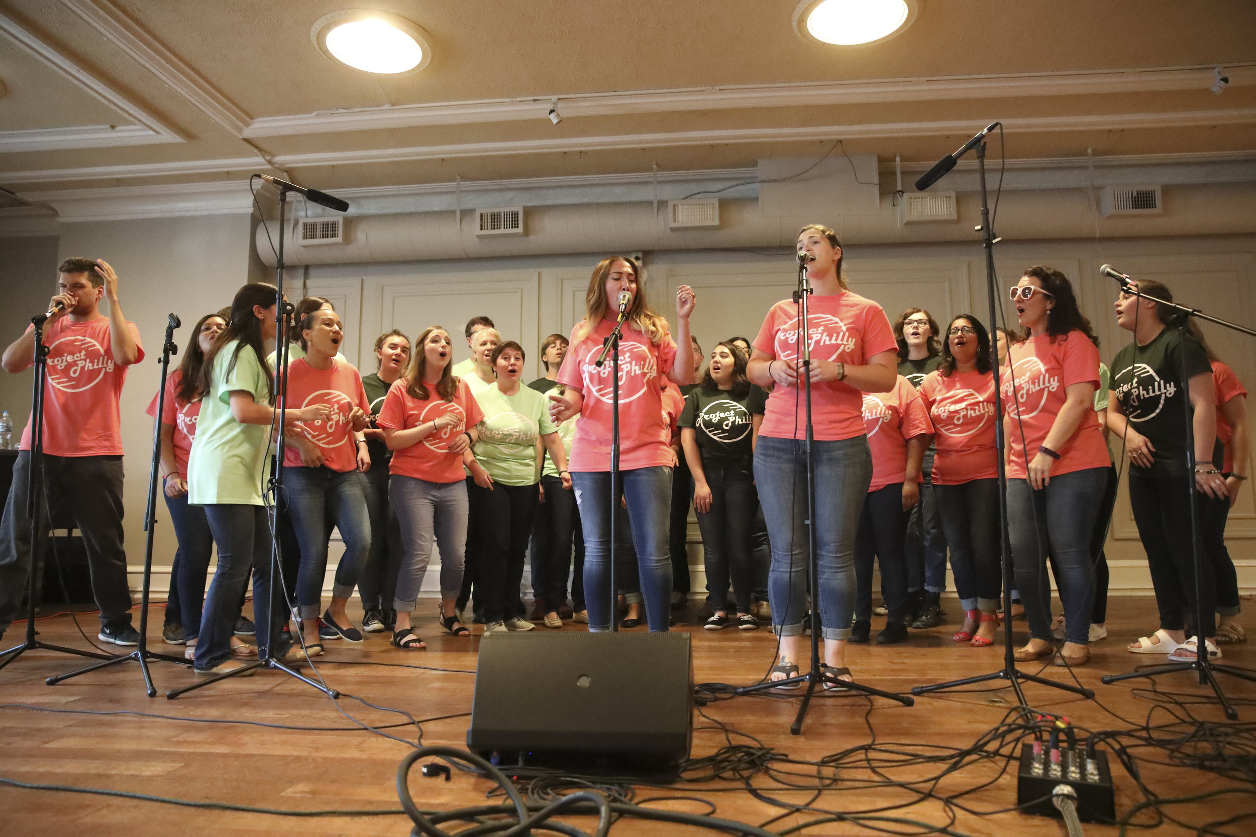 The A Cappella Project - Philadelphia   starts with you.   Join Now