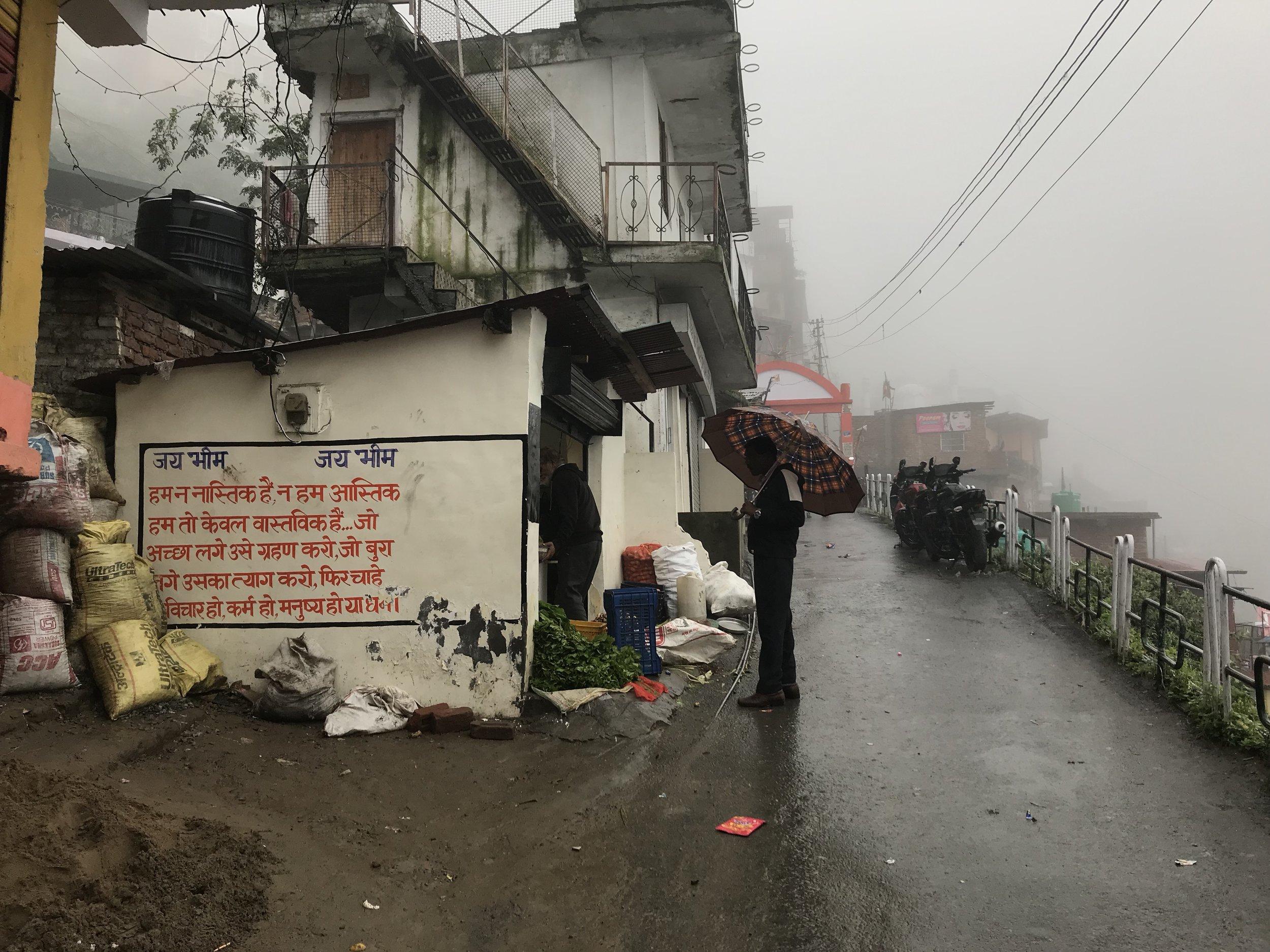 Shimla in the monsoon mist. Photo: Ayona Datta
