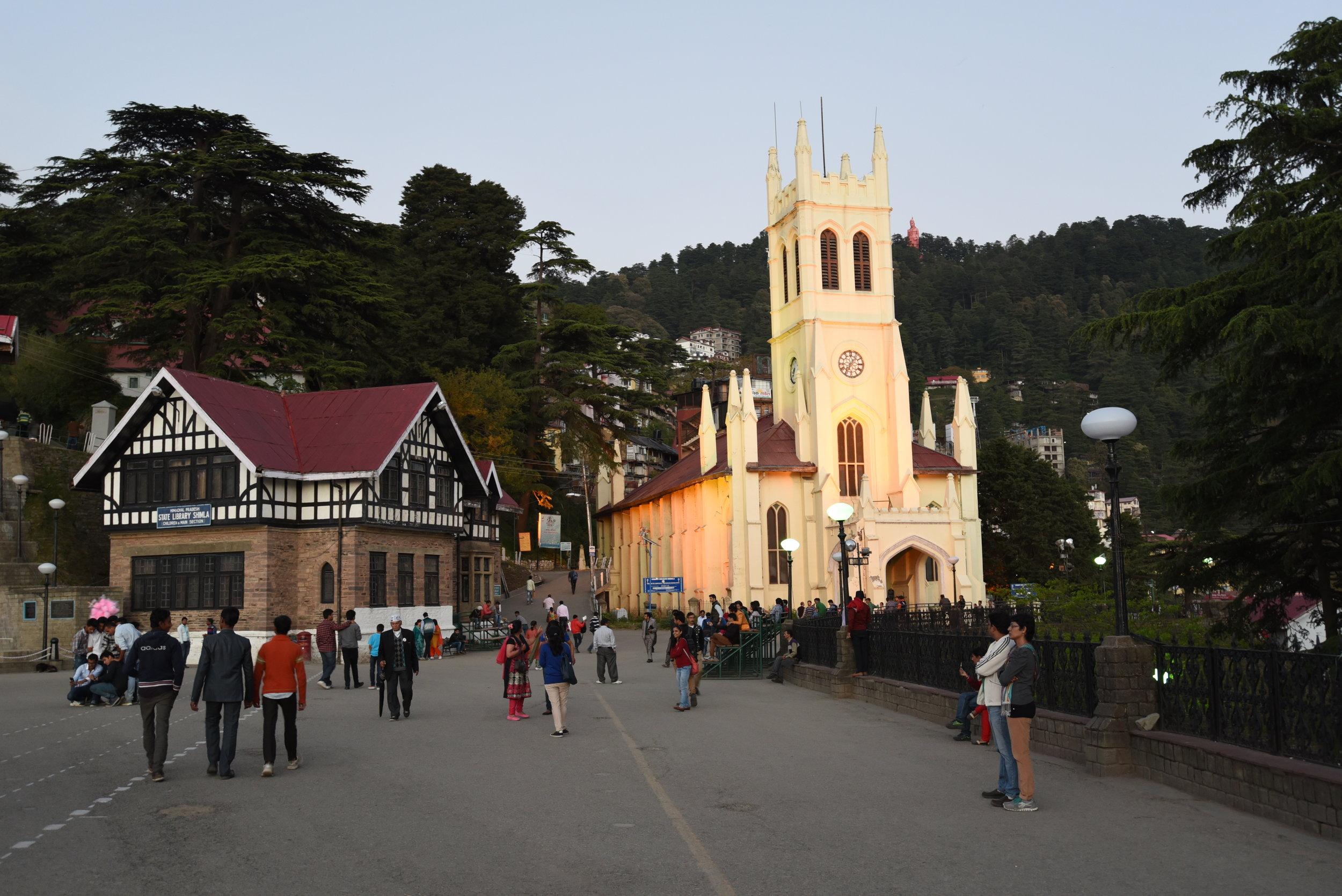 Christchurch Shimla on the Ridge