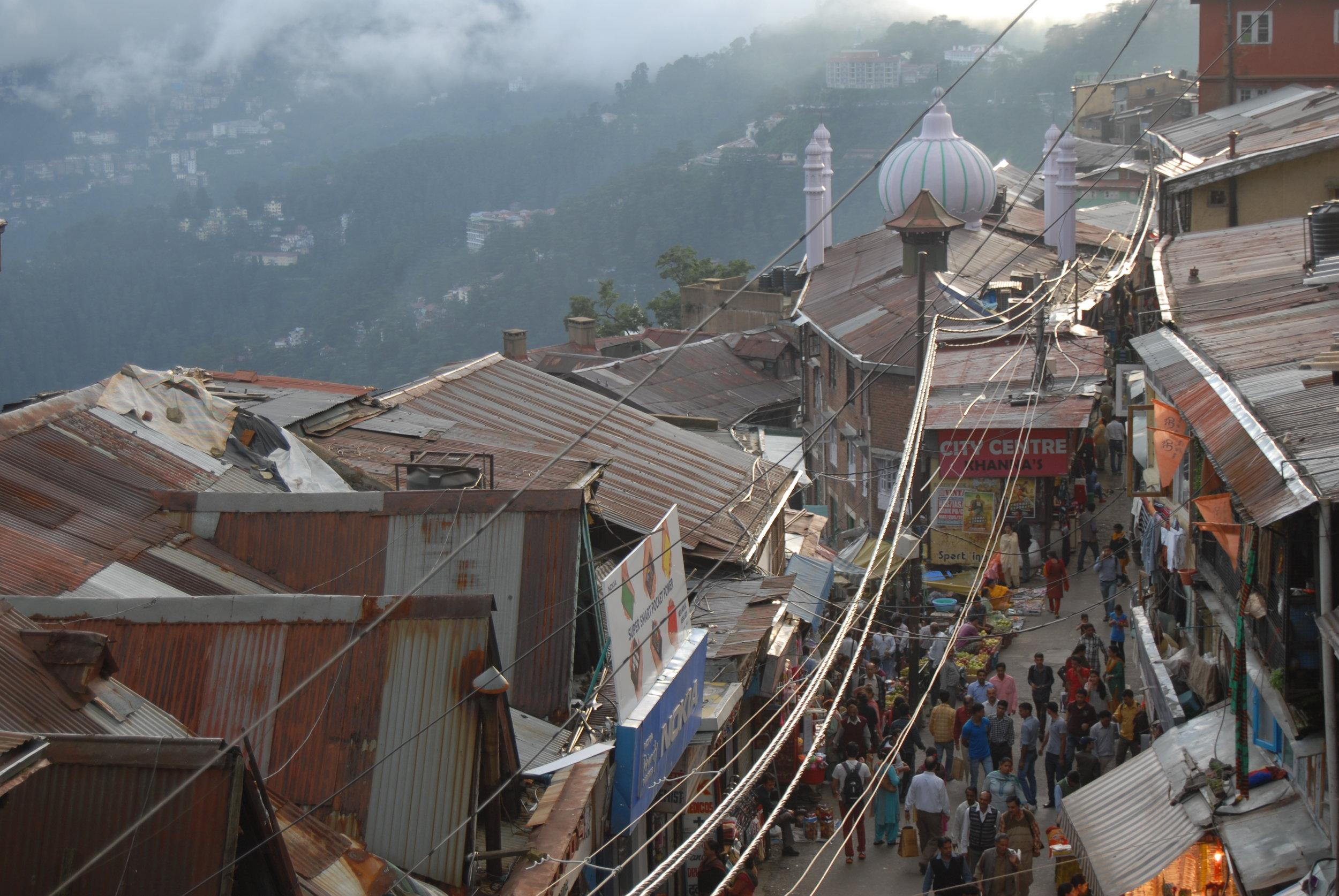 Lower Bazaar: Shimla's commercial lifeline