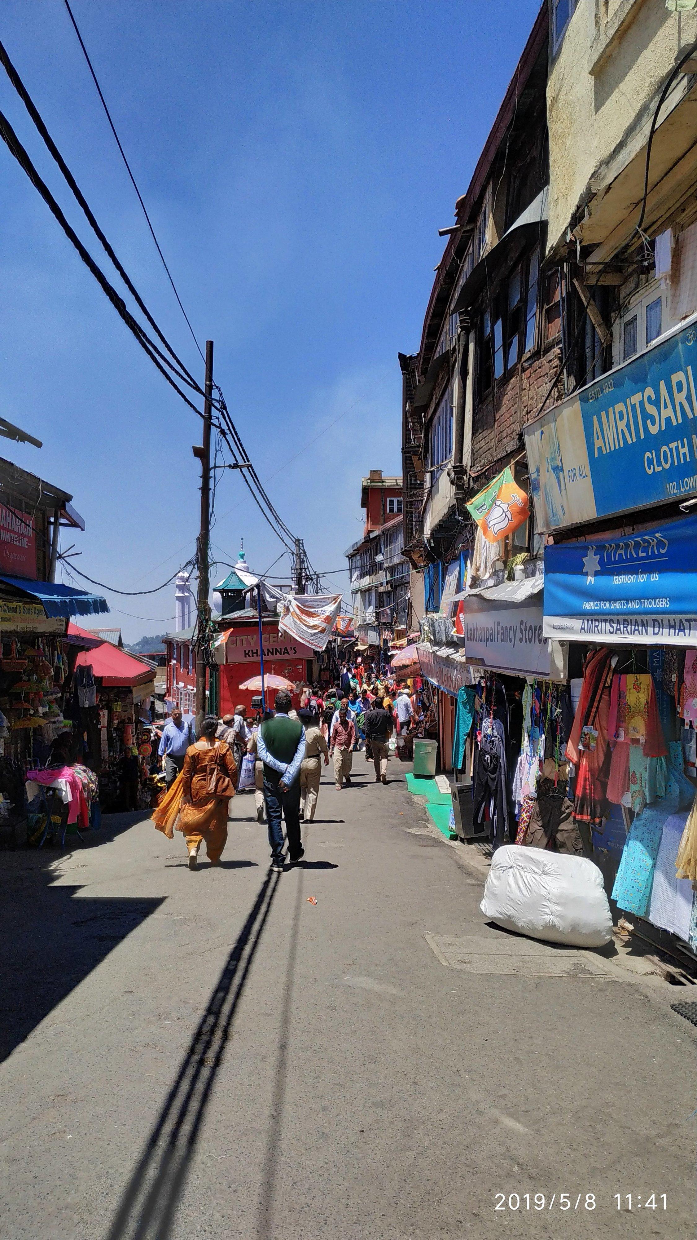 Figure 2: Entry to Lower Bazaar near Sher e punjab