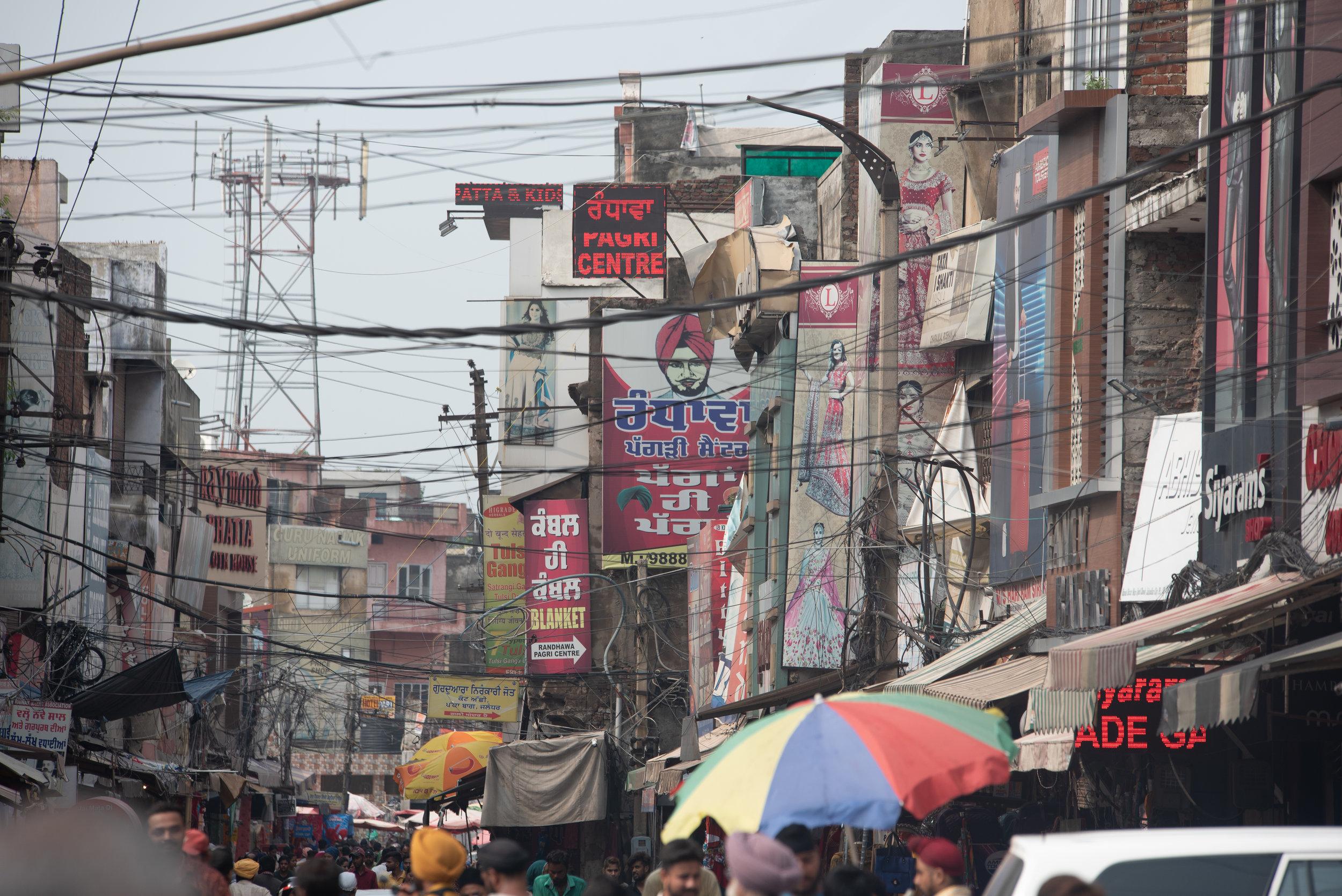Jalandhar's Sudama market
