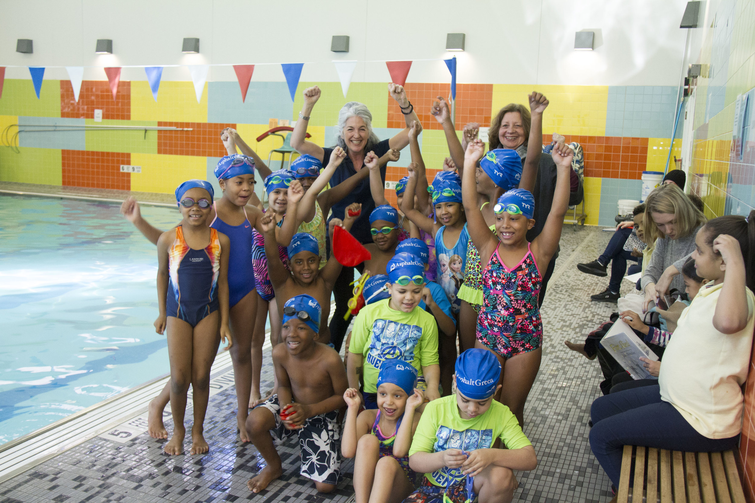 Swim Lessons - Learning to swim is one of the most important steps in reducing the risk of drowning. We provide over 10,000 free or low-cost swimming lessons to children each year by giving grants to our partners like the YMCA, Red Cross, Boys and Girls Club, etc.