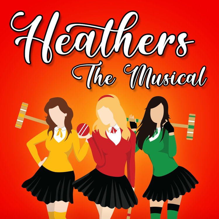 Verge Theater's  Heathers, the Musical  takes the original movie script and adds a hilarious soundtrack.