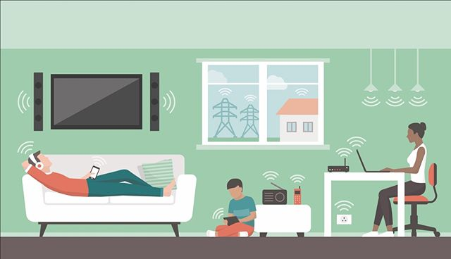 Learn about protecting yourself from harmful EMFs and creating a safe haven at home.  Read online: http://ow.ly/KUZw50k9q7W